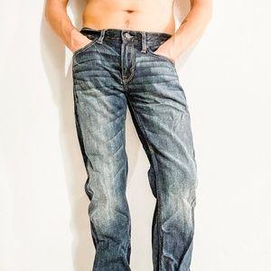 AMERICAN EAGLE Men's Blue Jeans, 32 x 32